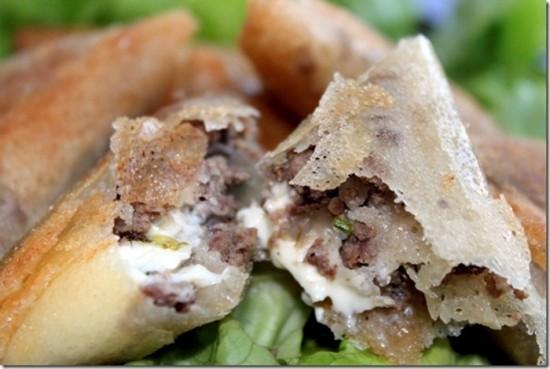 Chaussons de viande hach e aux l gumes for Notre cuisine algerienne