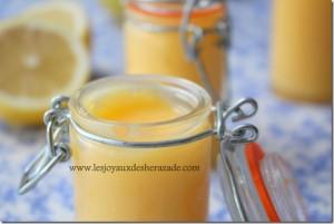 recette de creme au citron, lemon curd