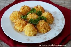 recette de pommes de terre duchesse