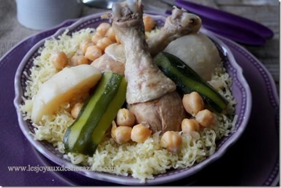 Rechta sauce rouge for Notre cuisine algerienne