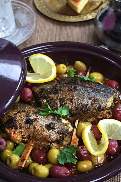 Tajine de poisson la chermoula les joyaux de sherazade for Cuisine orientale