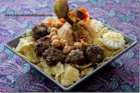 recette de trida , cuisine algerienne