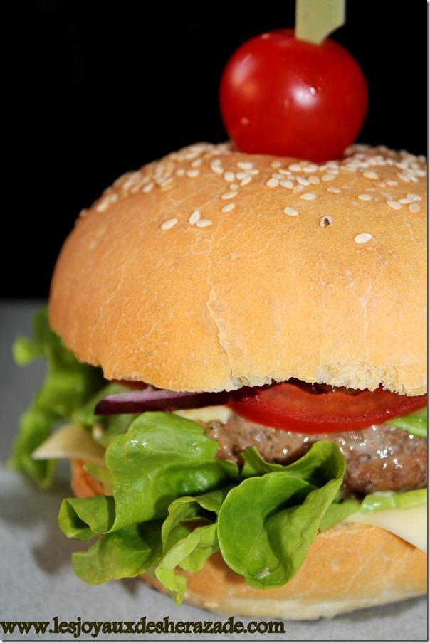 Recette de hamburger / hamburger 100% maison   Les Joyaux de Sherazade