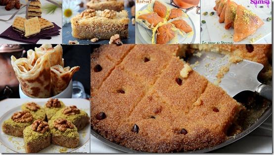 Gâteaux algériens et pâtisseries au miel pour ramadan 2016