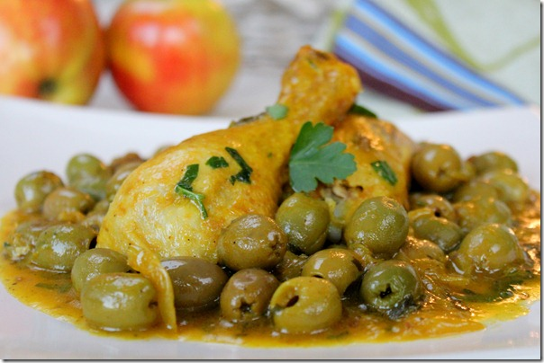 Poulet aux olives
