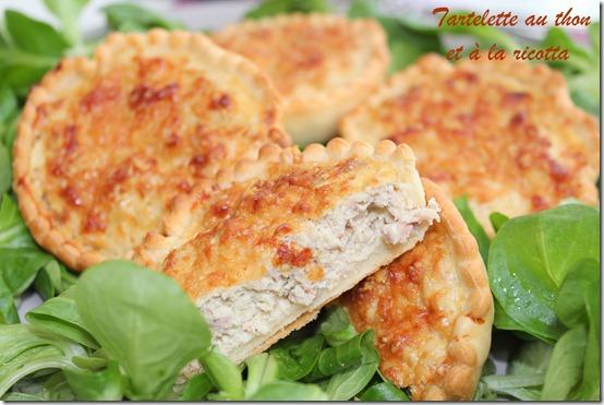 Tartelettes au thon et à la ricotta