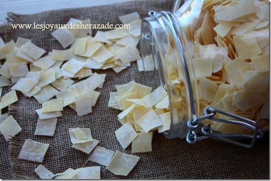 Recette de trida , pâte algerienne