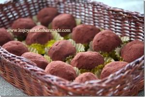 truffes à la creme de marron