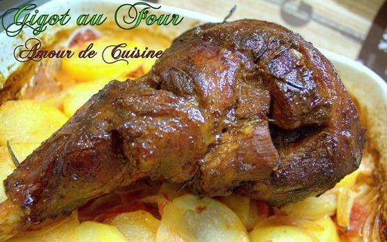 Gigot D Agneau Au Four Cuisine Algerienne