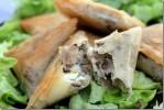 Brick à la viande hachée (bourak)