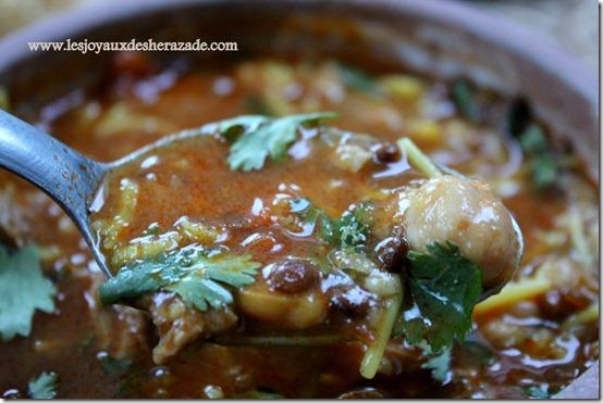 harira marocaine, harira fassia