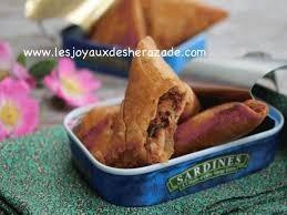 boureks aux sardines