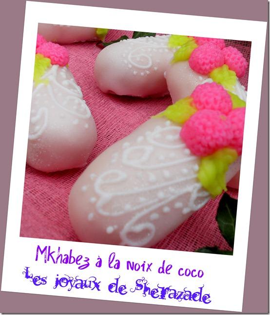mkhabez à la noix de coco, patisserie algeroise