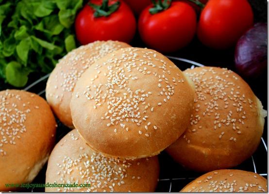 pain pour hamburger moelleux fait maison