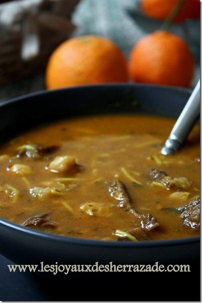 recette de harira algerienne