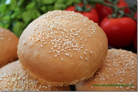 recette de pain pour hamburger, pain maison moelleux