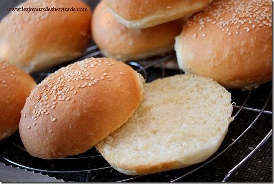 recette pain pour hamburger 100% fait maison