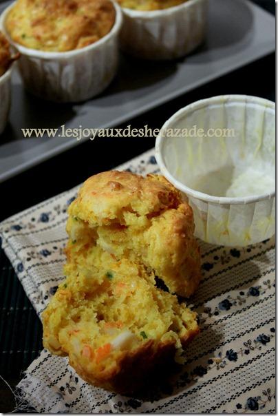muffins salés au surimi