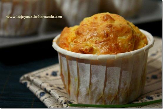 recette de muffins salés, moelleux au surimi