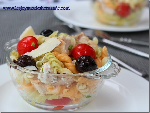 salade de pate facile, legere