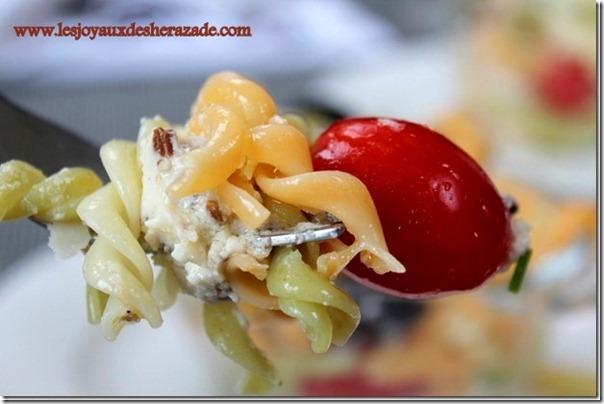 salade de pate, salade facile, salade legere
