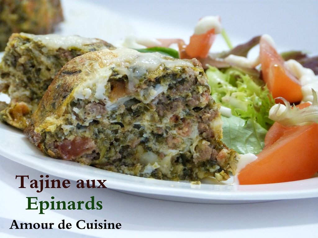 Tajine aux epinards 0171 - Cuisine tunisienne tajine ...