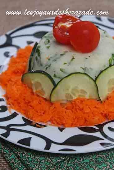 Salade composée de riz