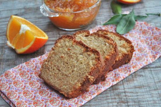 Cake à la marmelade d'orange