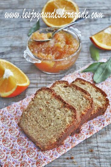 Cake à l'orange facile
