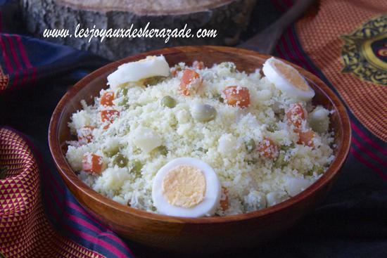 Couscous kabyle aux légumes à la vapeur