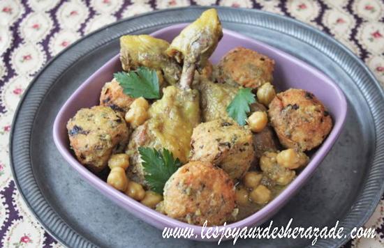 Sfiria au poulet et au riz, plat algérien