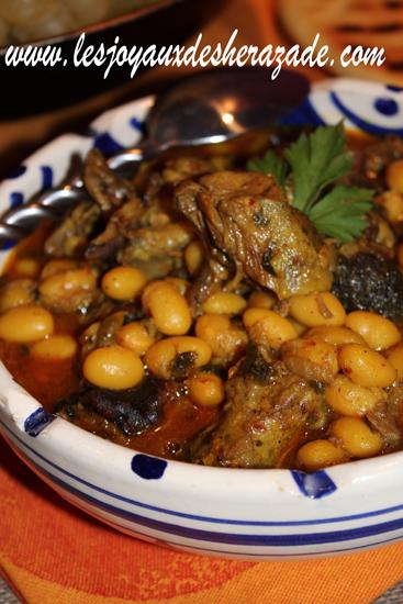 Bouzelouf loubia, cuisine algerienne