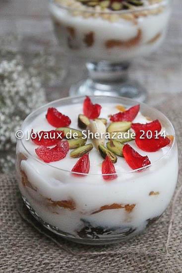 Desserts au lait facile, Palouza