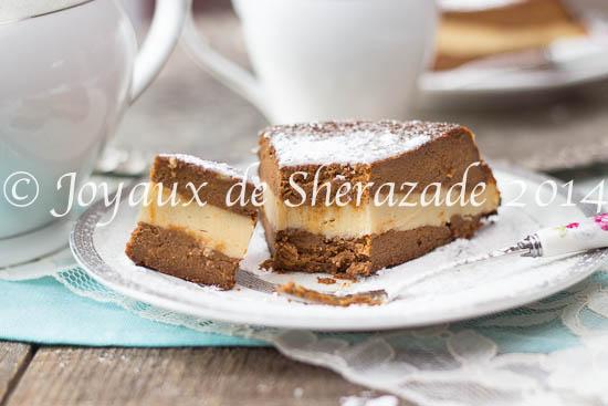 Gâteau sans gluten à la patate douce- chocolat