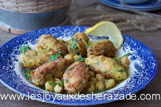 El mhawet, plat algérien facile