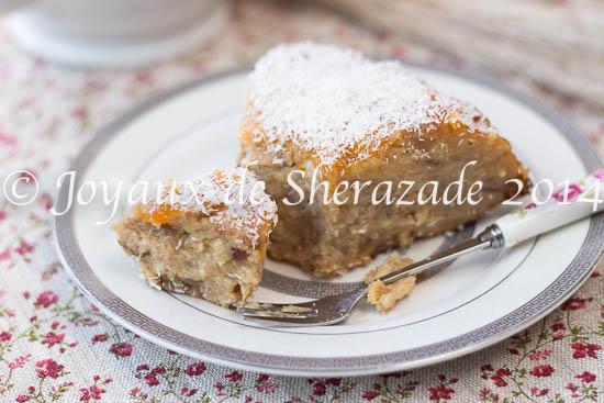 Pudding aux pommes / Gâteau économique