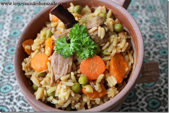 recette de riz aux legumes