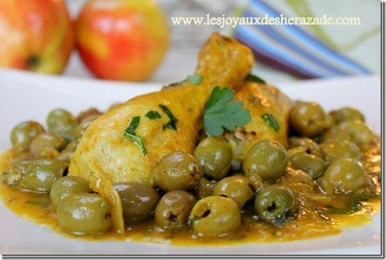 tajine-poulet-aux-olives