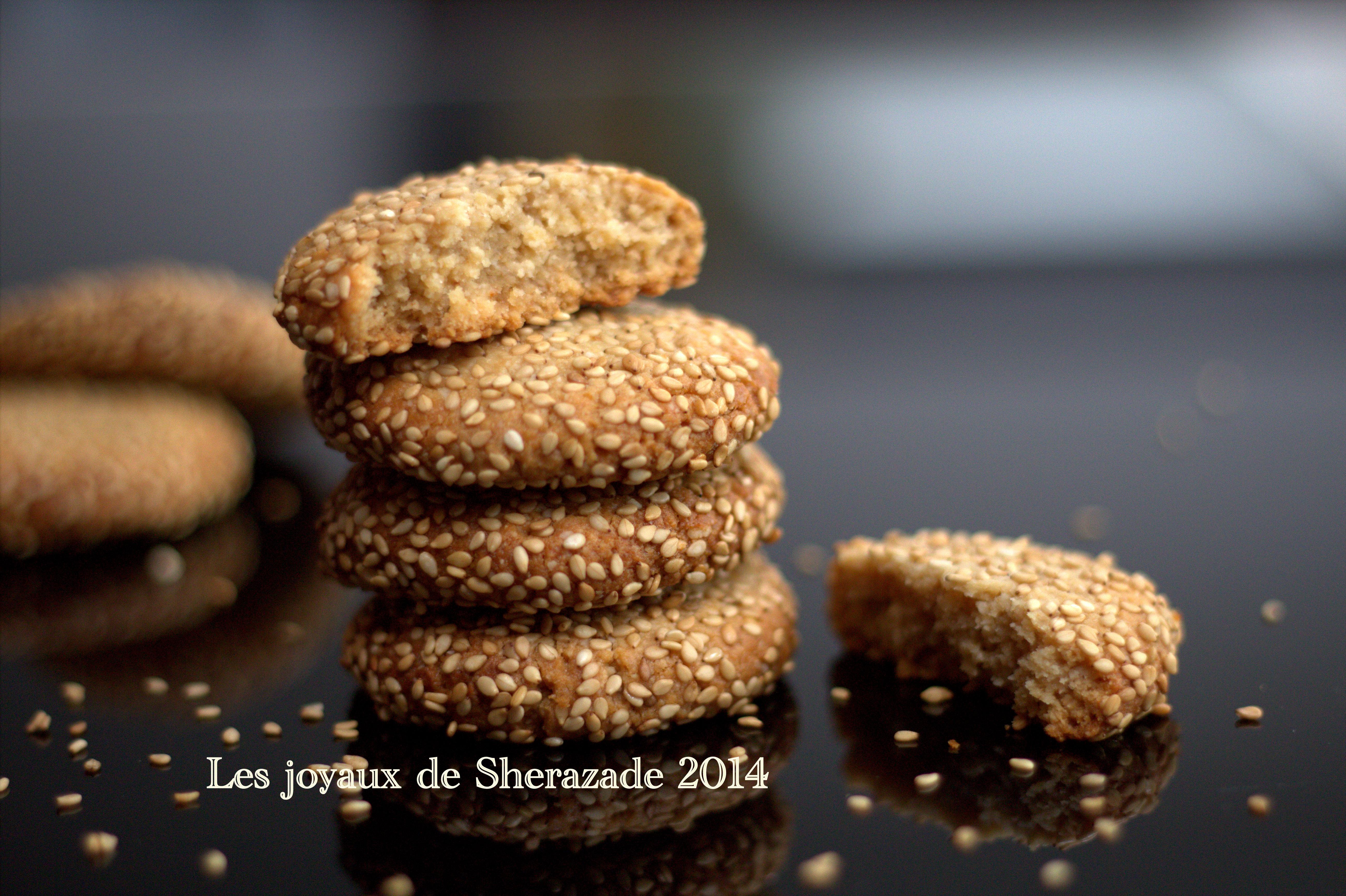 Cookies au sésame