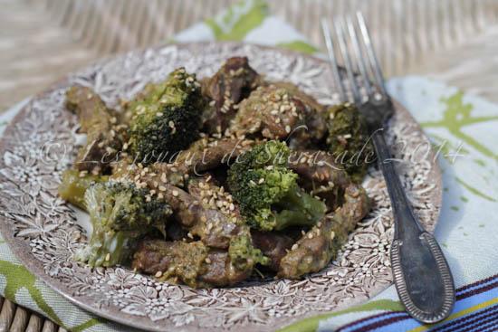 Boeuf au brocoli