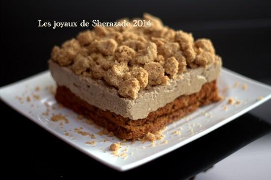 gâteau au café de Philippe Conticini