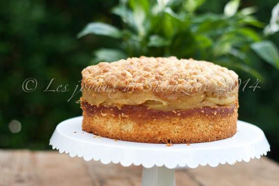 Gâteau aux pommes façon tarin