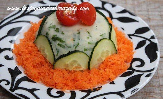 Salade composée, riz & pommes de terre