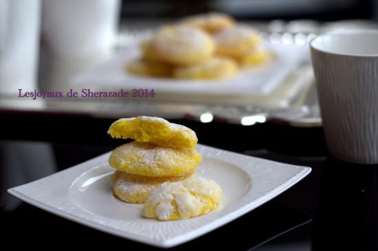Biscuit craquelé au citron