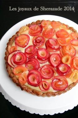 Tarte facile sans gluten aux pommes