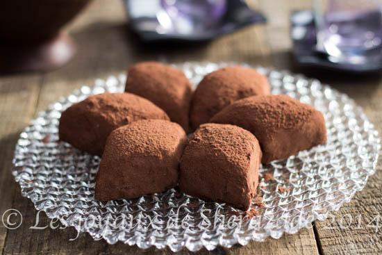 Makrout el louz au chocolat / gâteau algérien 2014