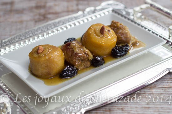 les plats tlemceniens d'origine andalous: sucrés/ salés