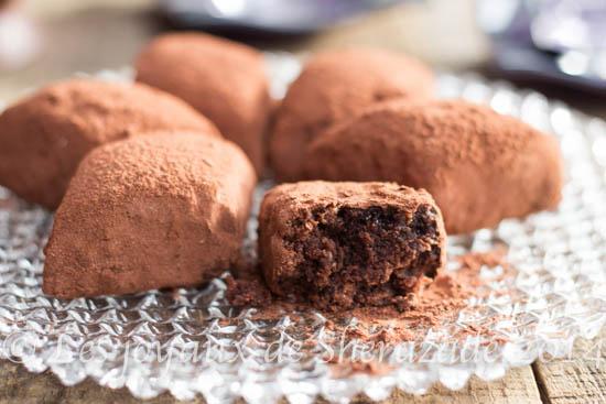 Makrout el louz au chocolat