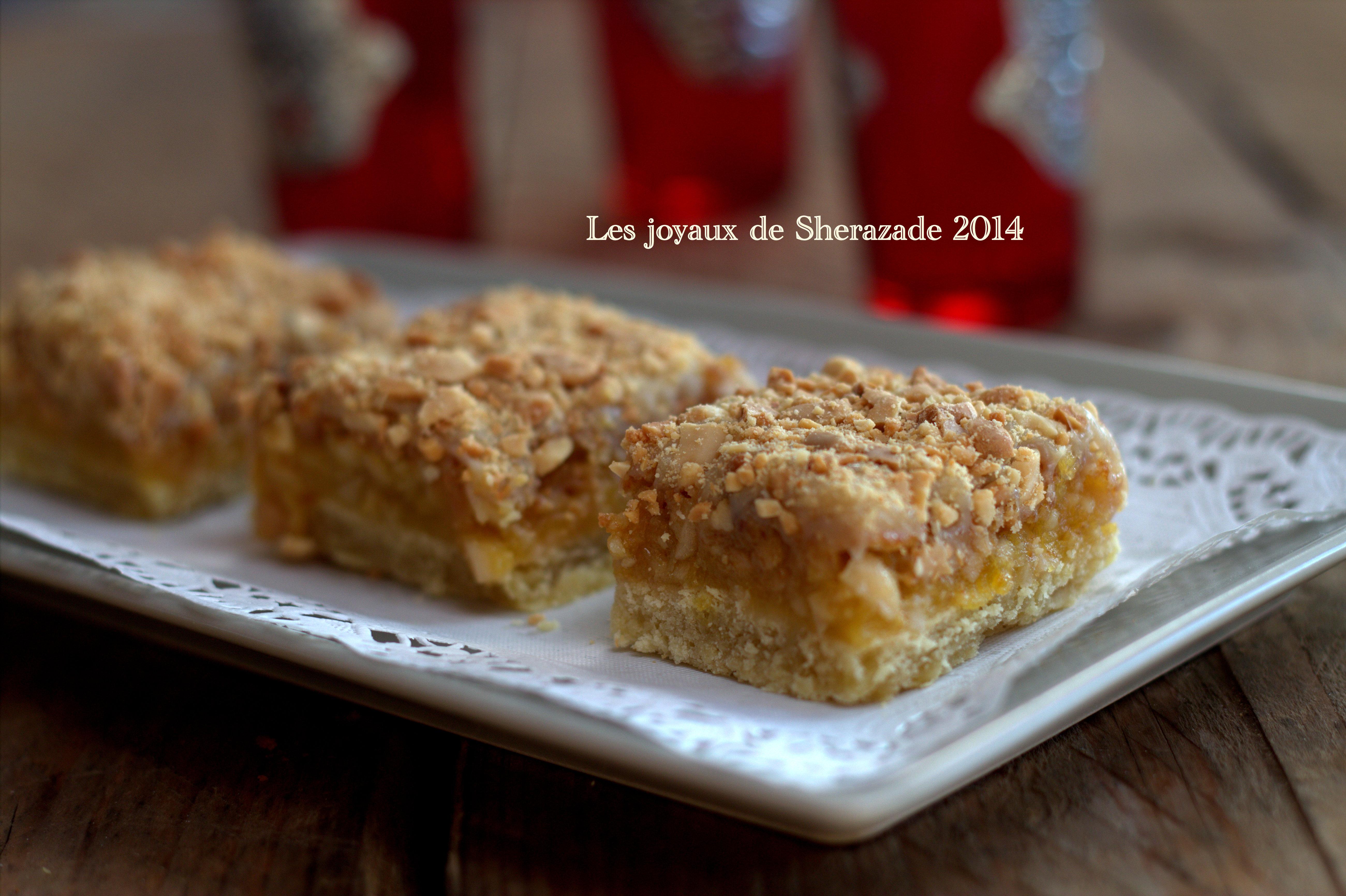 Gâteau algérien aux cacahuètes