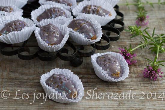 les hérissons, gâteau algérien